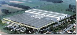3D image of the new production hall in Anholt, Germany