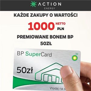 Action Energy: Zakupy premiowane bonami BP!