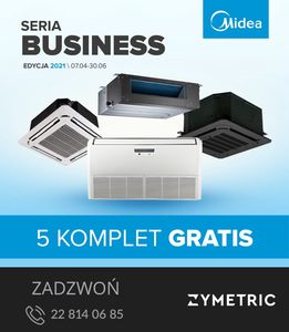 Midea BUSINESS - 5 komplet Gratis!