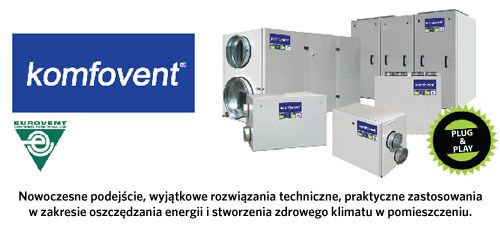 Centrale KOMFOVENT