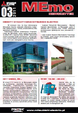MEmo - newsletter Mitsubishi Electric 03/2011