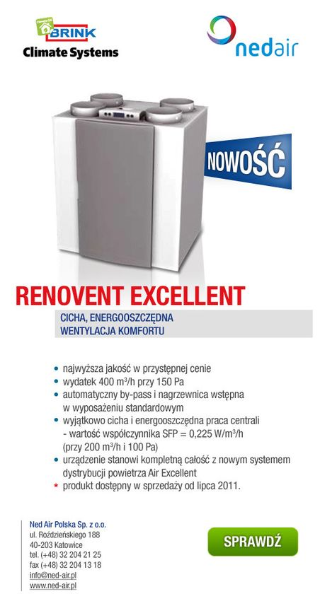 Nowy, doskonały Renovent - RENOVENT EXCELLENT