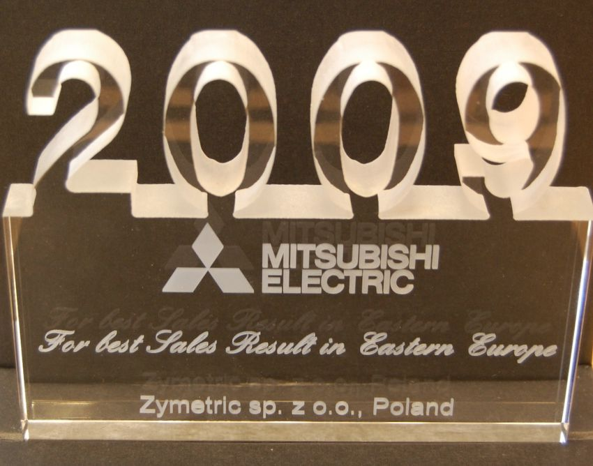 Mitsubishi Electric - The Best sales result in Eastern Europe - Zymetric