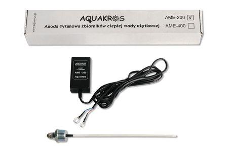 Anoda tytanowa Aquakros AME 200 do 400 L, zbiorniki emaliowane