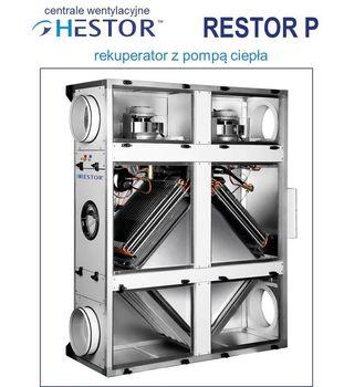 Centrale Wentylacyjne - RESTOR P1, P2, P3