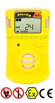 Detektor tlenku węgla Single Gas Clip