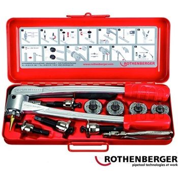 Expander/wyoblak COMBI KIT Rothenberger (Ekspander/wyoblak COMBI KIT)