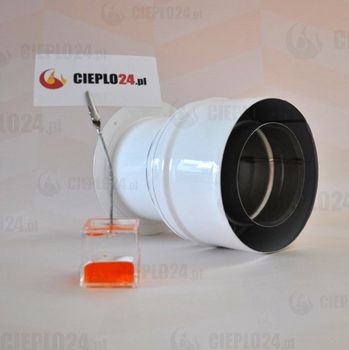 Jeremias adapter Junkers 60/100-80/125 złączka do kotła. TWIN1820804080125 (TWIN1820804080125)