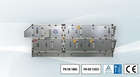 KLIMOR Centrala dachowa MCKS 2700-2800m3/h, 300-400Pa -