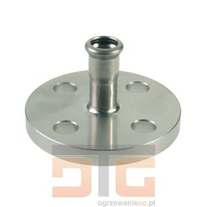 Kołnierz press 35 mm (inox) KAN 6190791 (8711985152456)