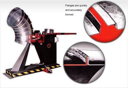 Maszyna do kolan segmentowych wentylacyjnych typu SPIRO