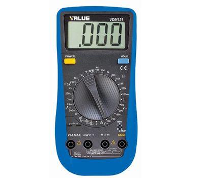 Miernik uniwersalny VALUE VMD-151, miernik elektroniczny