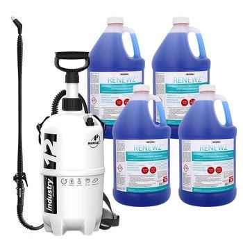 Preparat do czyszczenia skraplaczy RENEWZ (4 szt.) z hydronetką 12l