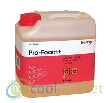 Preparat, Mocny środek do czyszczenia skraplaczy Pro-Foam 5l-KONCENTRAT 175,00 zł brutto