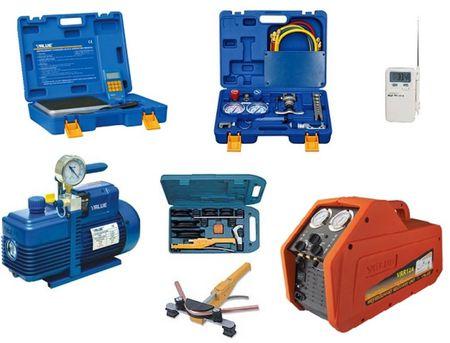 Promocja zestawów narzędzi do montażu i serwisu klimatyzacji, autoklimatyzacji i chłodnictwa