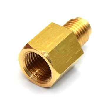 Redukcja do reduktora azotu 1/4 SAE x G 1/4, adapter