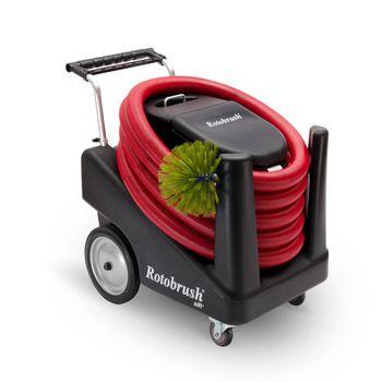 Rotobrush - sprzęt do czyszczenia kanałów wentylacyjnych