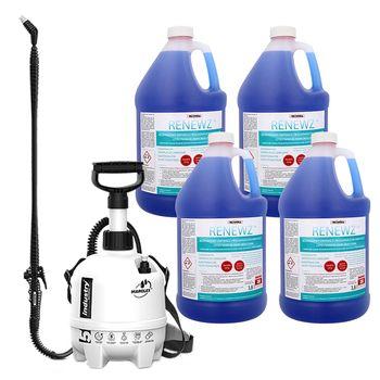 Środek do czyszczenia skraplaczy RENEWZ 4x3,8l + spryskiwacz 5l