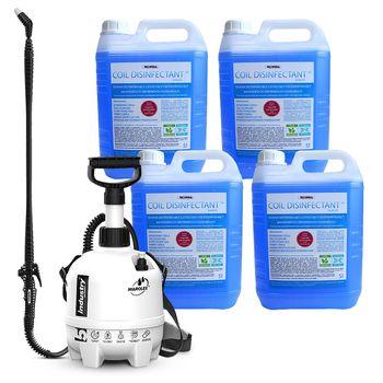 Środek do dezynfekcji i czyszczenia klimatyzatorów 4x5l + hydronetka