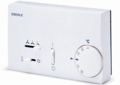 Termostat Eberle KLR-E 7012 Nadtynkowy regulator temperatury do ogrzewania i chłodzenia 139zł brutt