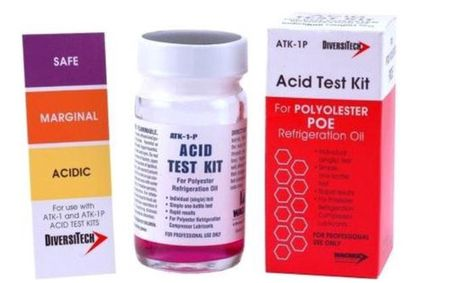 Tester kwasowości Acid Test Kit ATK- 1P DIVERSITECH do POE (ATK-1P)