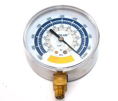 Wakuometr duży do pomp próżniowych Value 80 mm