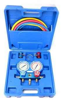 Zestaw manometrów z szybkozłaczami Value VMG-2-R134A + VHF