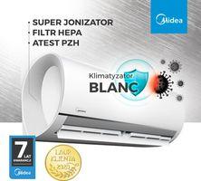 Klimatyzatory ścienne Blanc – komfort i bezpieczeństwo